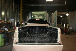 GMC 2500 HD Bed Liner Tough Coat - Before